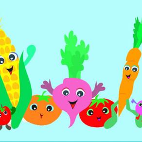 Fruit en groente: Versjes