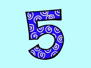 Cijfers (5): Versjes