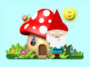 Kabouters en paddenstoelen: Versjes