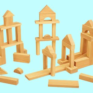 De bouwhoek inrichten