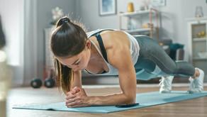 Flacher Bauch & starke Bauchmuskeln mit der Plank.