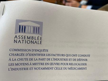 Communiqué de presse : Une commission d'enquête pour la relocalisation industrielle
