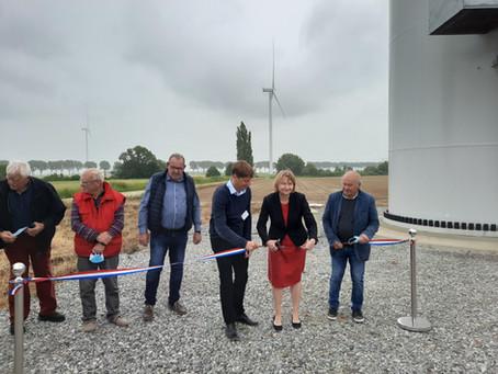 Inauguration du parc éolien d'Ablaincourt