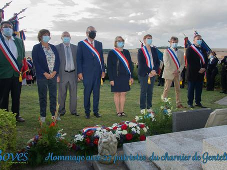 Charnier de Gentelles : commémoration et devoir de mémoire