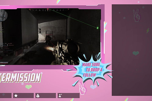 Pink Pastel Chat Screen