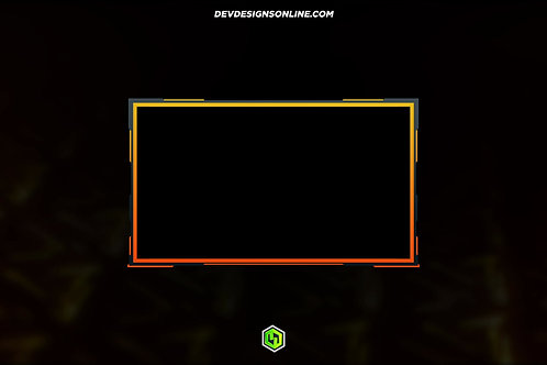 Yellow Color Loop Cam Overlay [Animated]