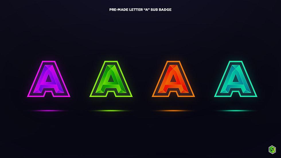 """A"" Sub Badges"