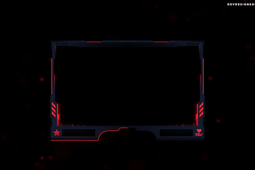 Red And Black Cam Overlay [Animated]