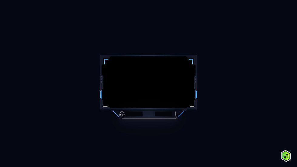 Blue & Black Cam Overlay