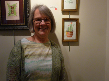 Calligraphy Guild Members Show at SullivanMunce