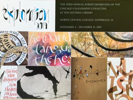 Chicago Calligraphy Collective Exhibition