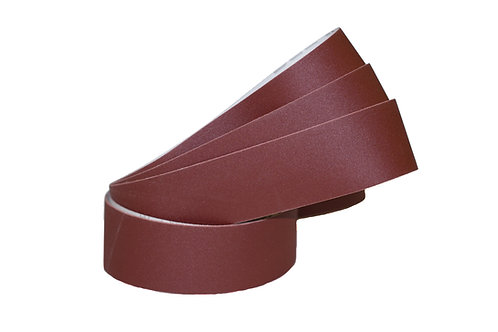 "Aluminum Oxide Red ""J"" Flex Belts"