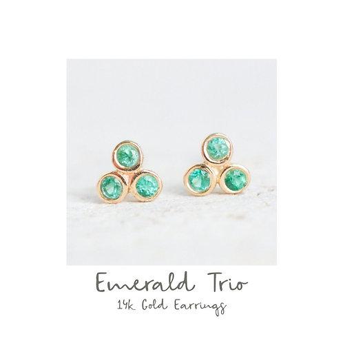 PRE-ORDER Emerald Trio