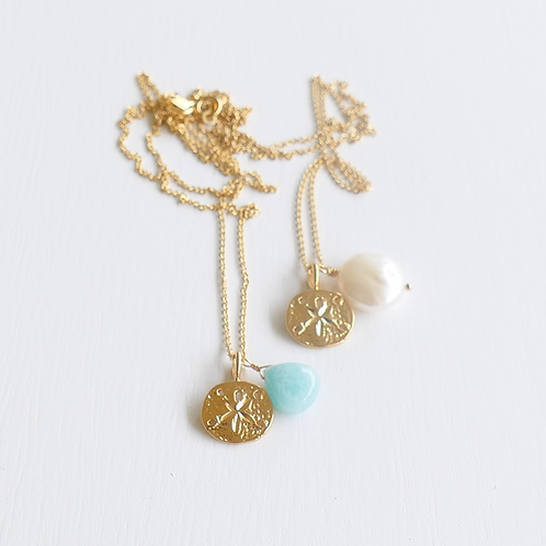 Sand Dollar Charm Necklace