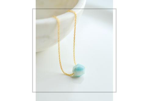 Floating Amazonite Necklace