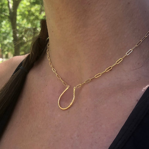 The Horseshoe Necklace 2.0
