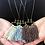 Thumbnail: BOHO Cotton Fringe Necklace