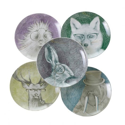 Quirky Plate Collection