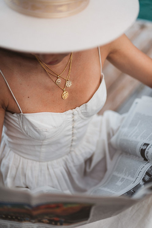 A Dreamy Layered Necklace Collection