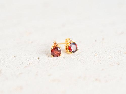 Red & Orange Garnets