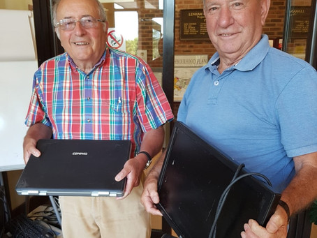Lenham Community Centre helps gather donations for Digital Pipeline