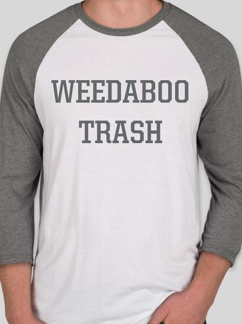 Weedaboo Baseball Tee