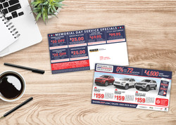 Sales + Service Mailer