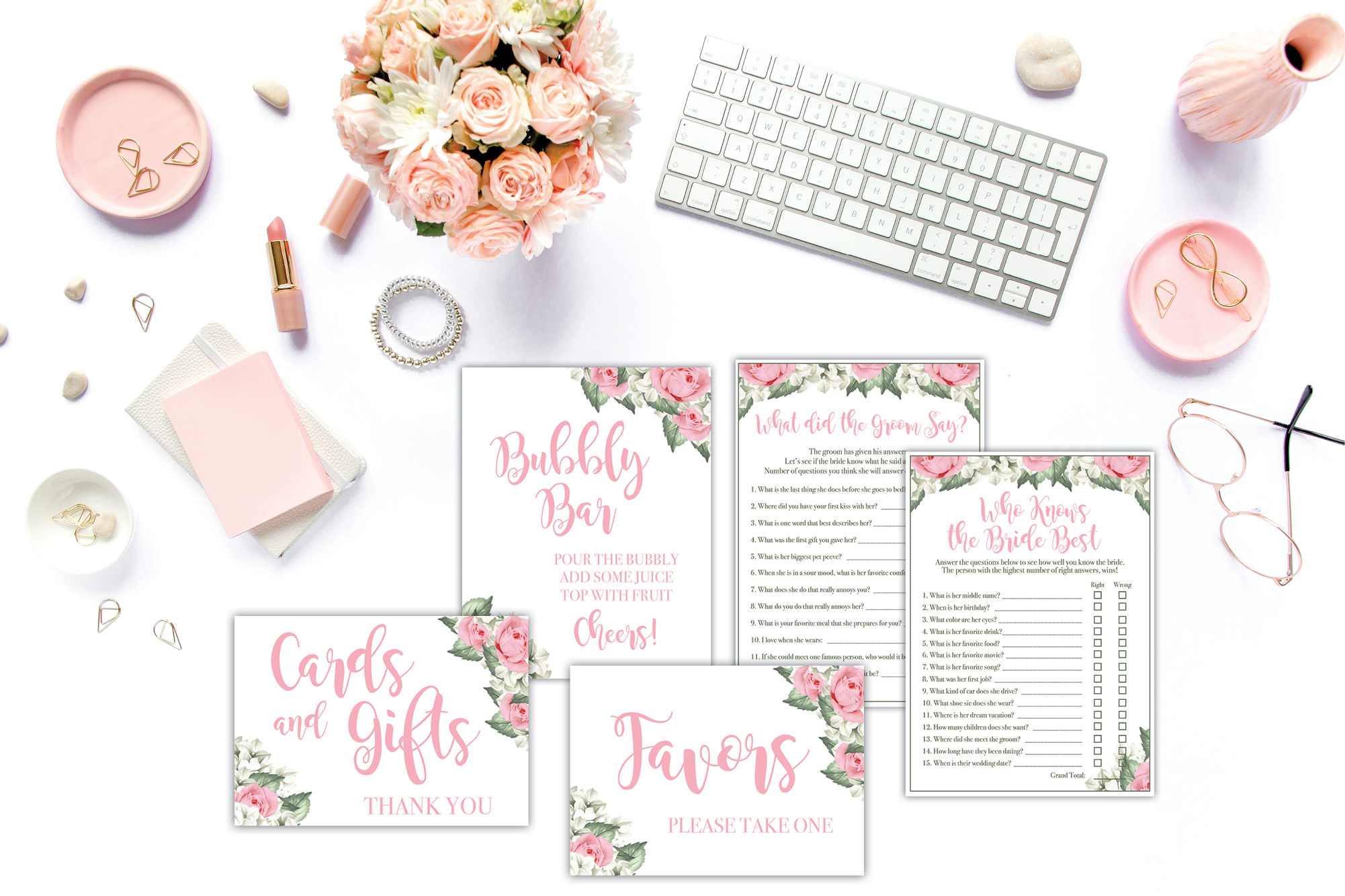Bridal Shower Set