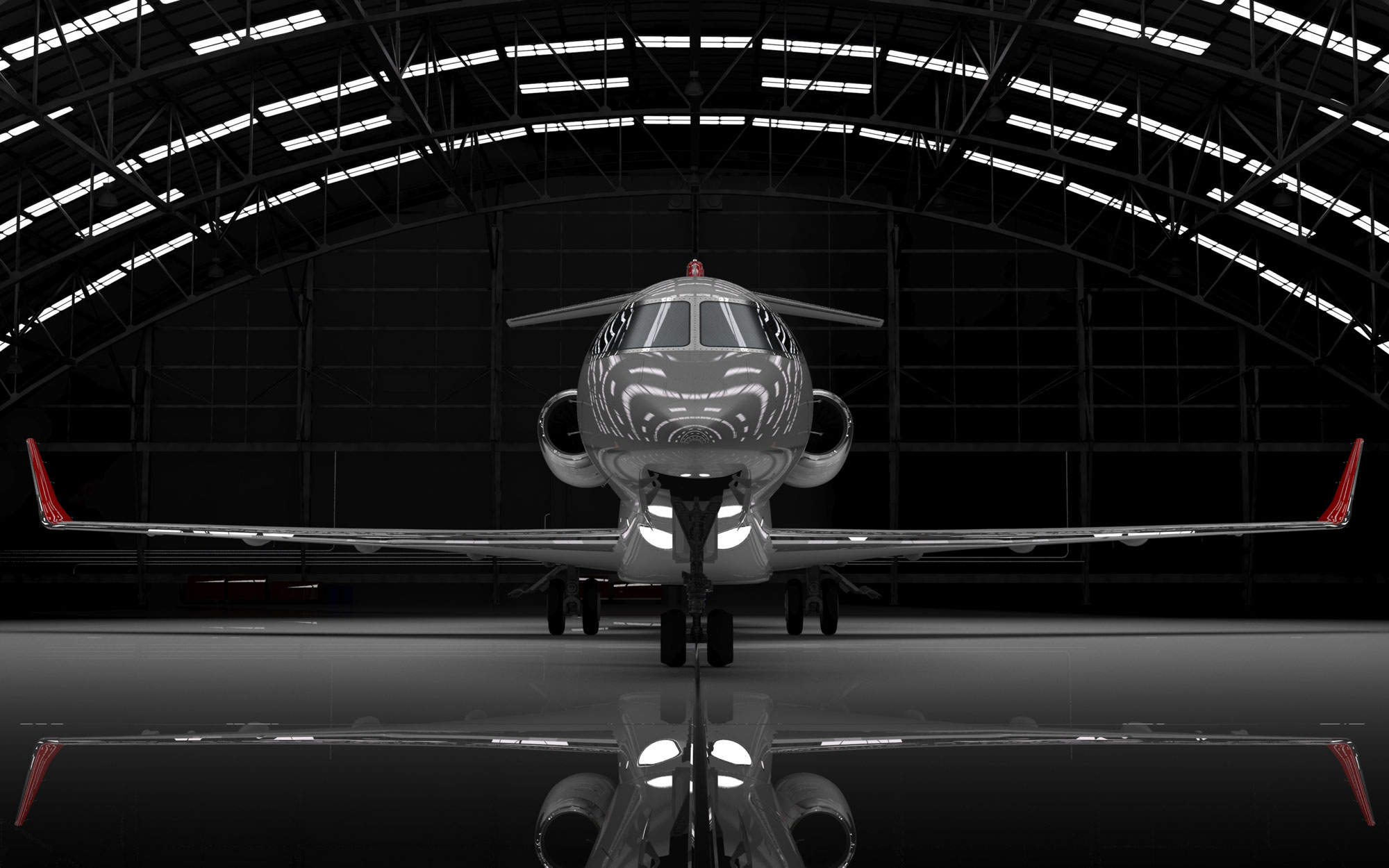 Learjet-85-in-hangar21
