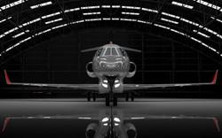 Learjet-85-in-hangar21