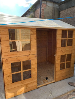 sheds and outhouses