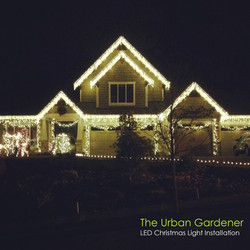 LED Christmas Light Installation