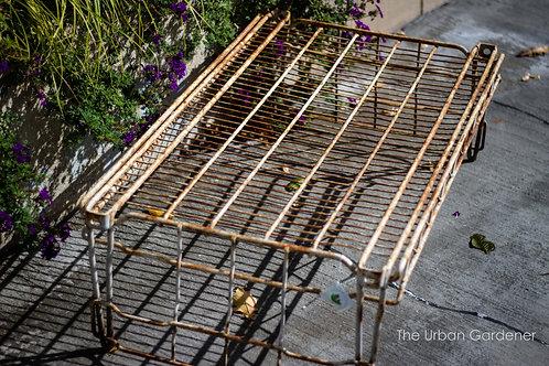 Sold: Vintage Industrial Garden Table