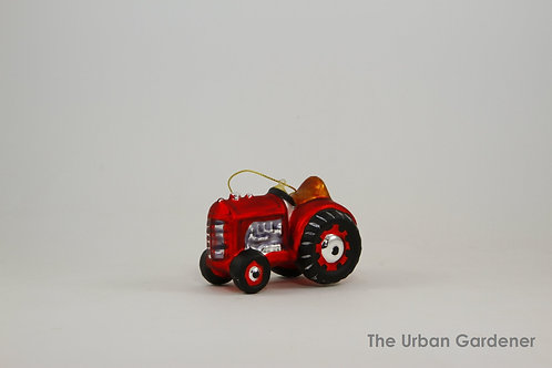 Little Red Tractor Holiday Ornament