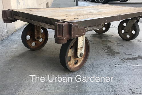 Sold: Antique Industrial Cart