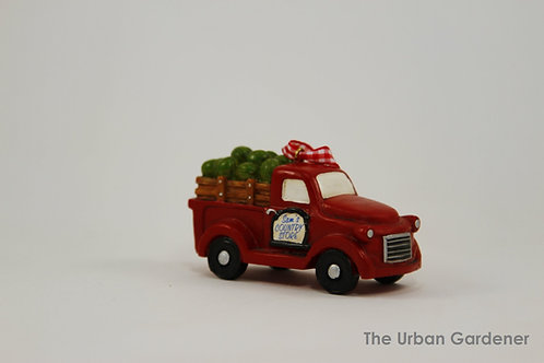 Farm Truck Holiday Ornament