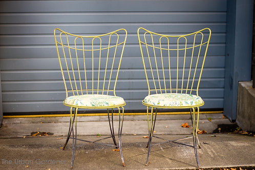 Sold: Vintage Pair of Homecrest Patio Chairs