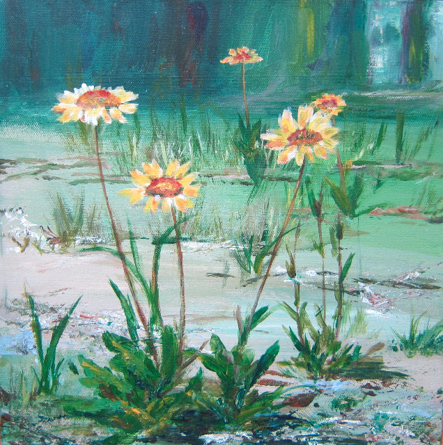 """Roadside Wildflowers"" $100"