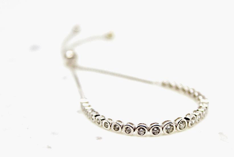 Bezel Toggle Bracelet