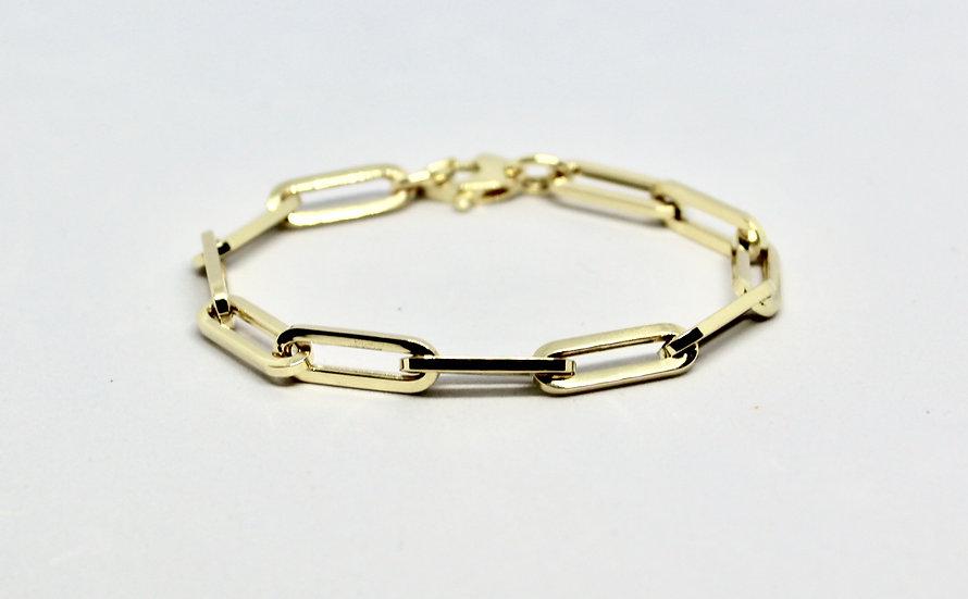 medium paper clip bracelet