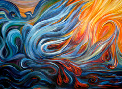 """""""Cleansing Fire"""" Prints - $100"""