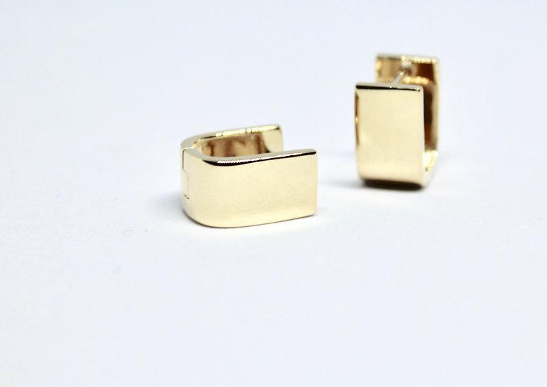 cufflink earrings