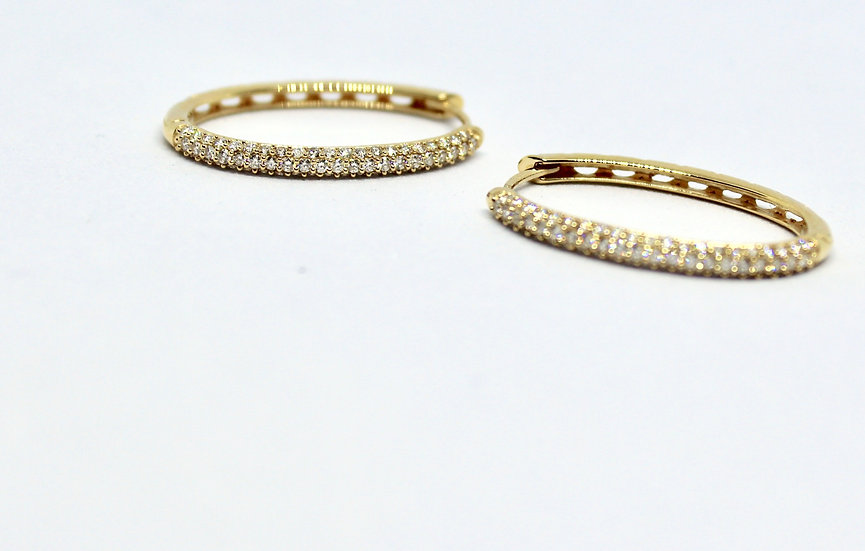 perfect oval hoops