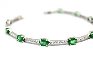 Emerald City Tennis Bracelet