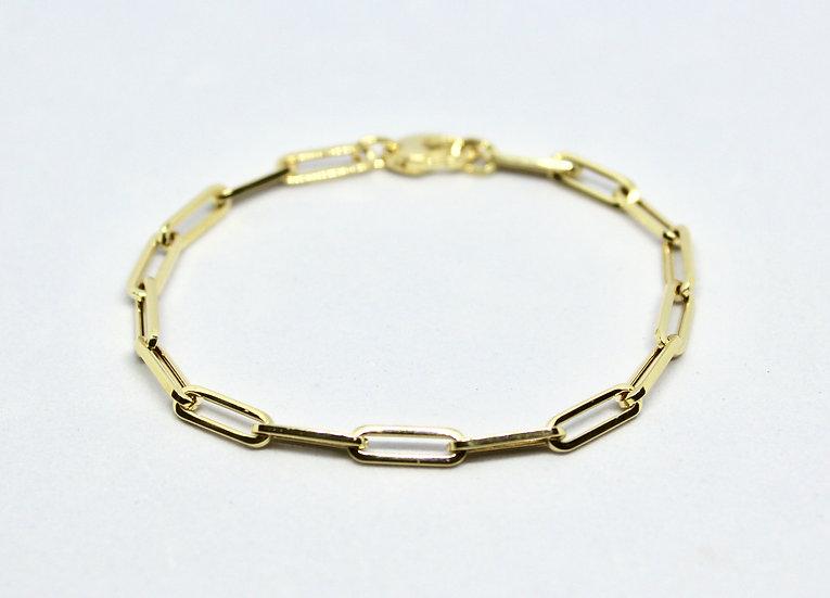 small paper clip bracelet