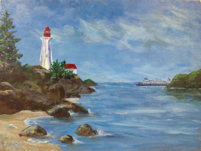Lighthouse Rock - SOLD