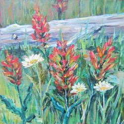 """""""Paint Brush Grove"""" $100"""