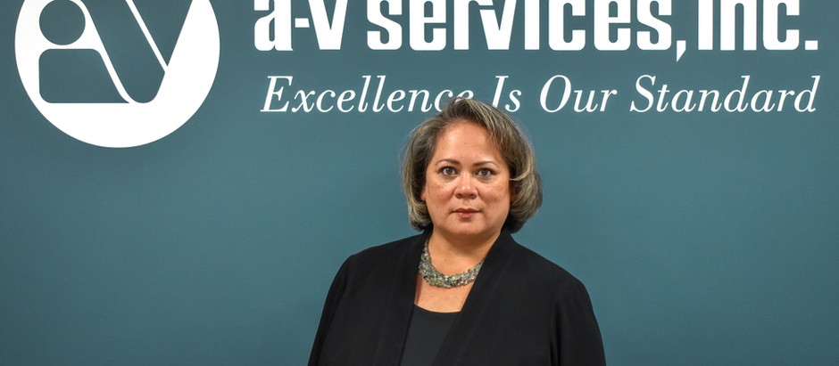 A-V Services announces Stephanie Bell as Vice President of Technical Operations