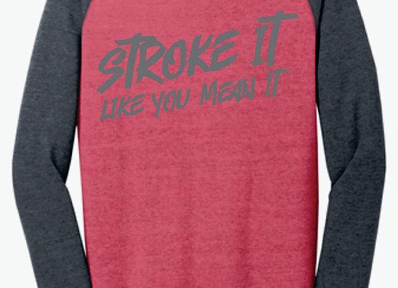 Stroke It Like You Mean It Hoodie