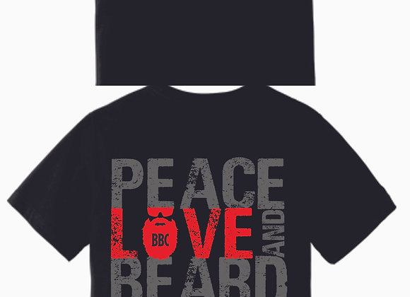 Available Now!! Peace, Love and Beard
